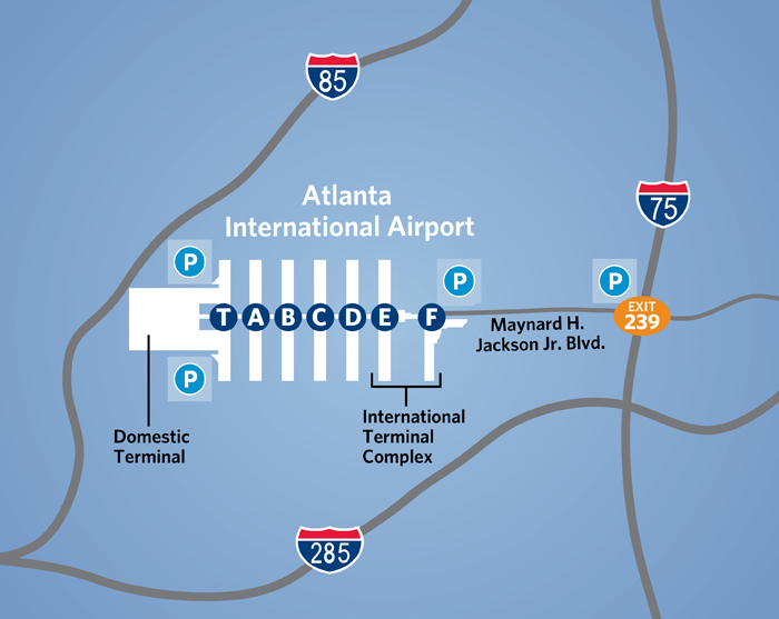 MHJJ Terminal Access via Interstate 85